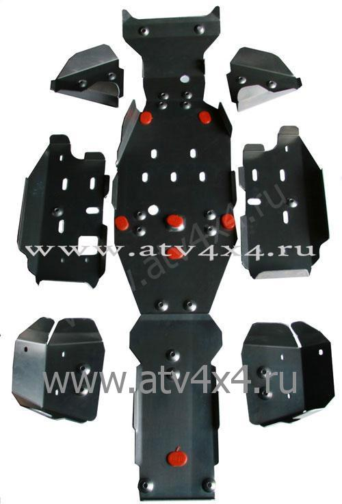 Защита для квадроцикла STELS ATV 700 D (полн. комплект) алюмин.4mm